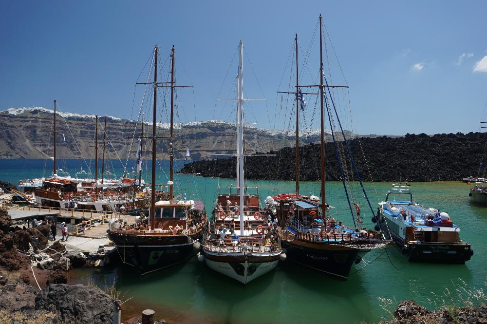 Excursions Boats Greece