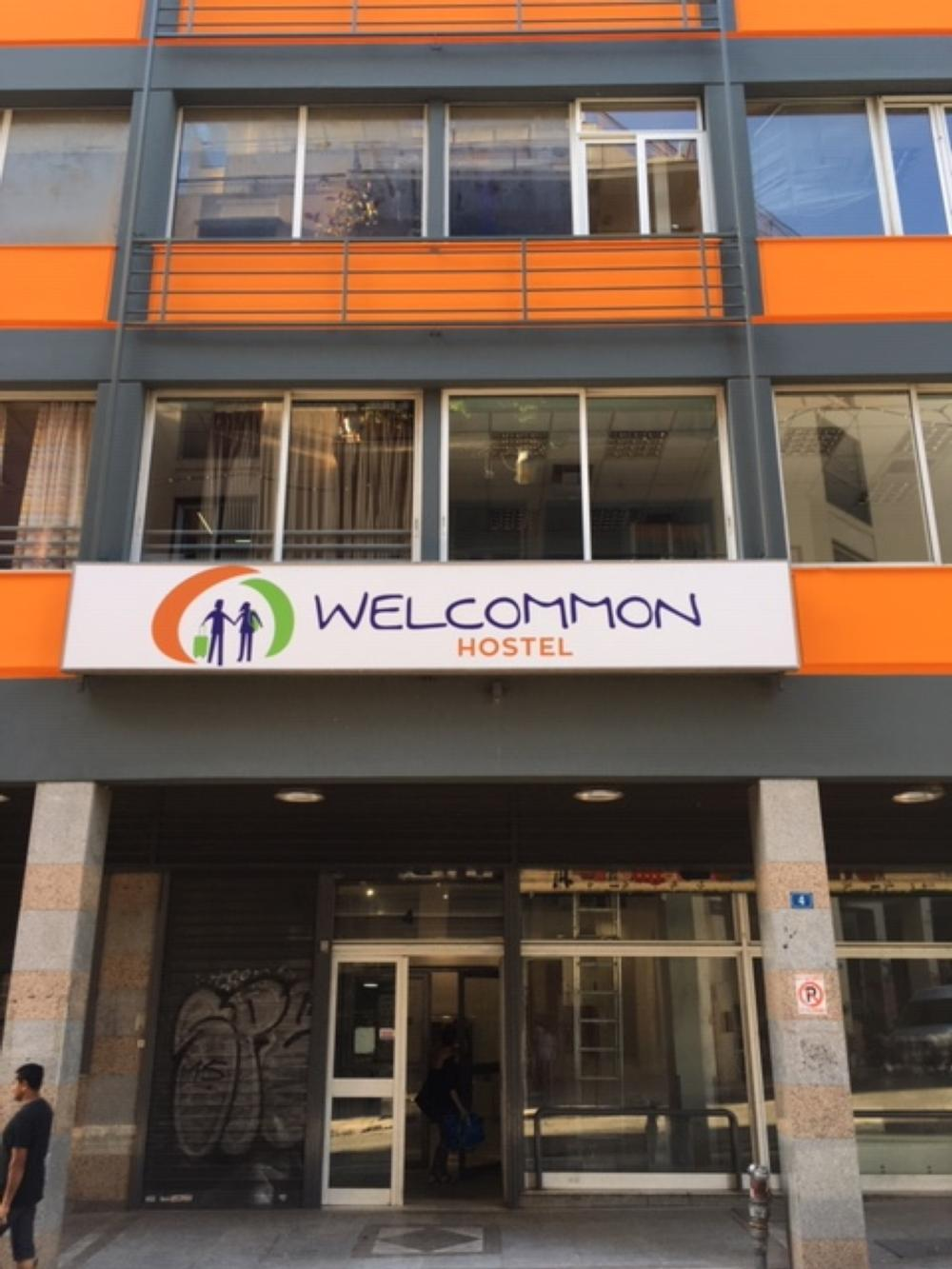 Welcommon hostel athens