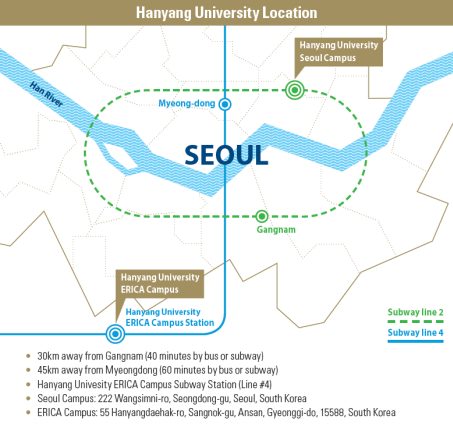Ansan Seoul Subway Map.Programs Brochure The Center For International Education
