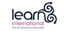 Learn international logo