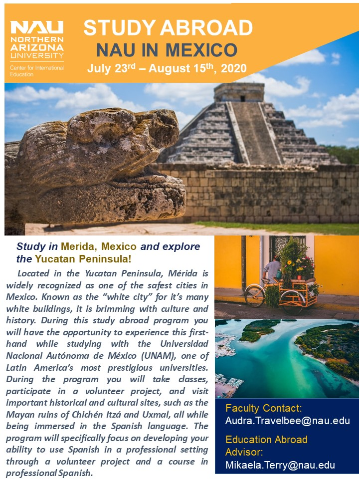 NAU in Mexico - Travelbee