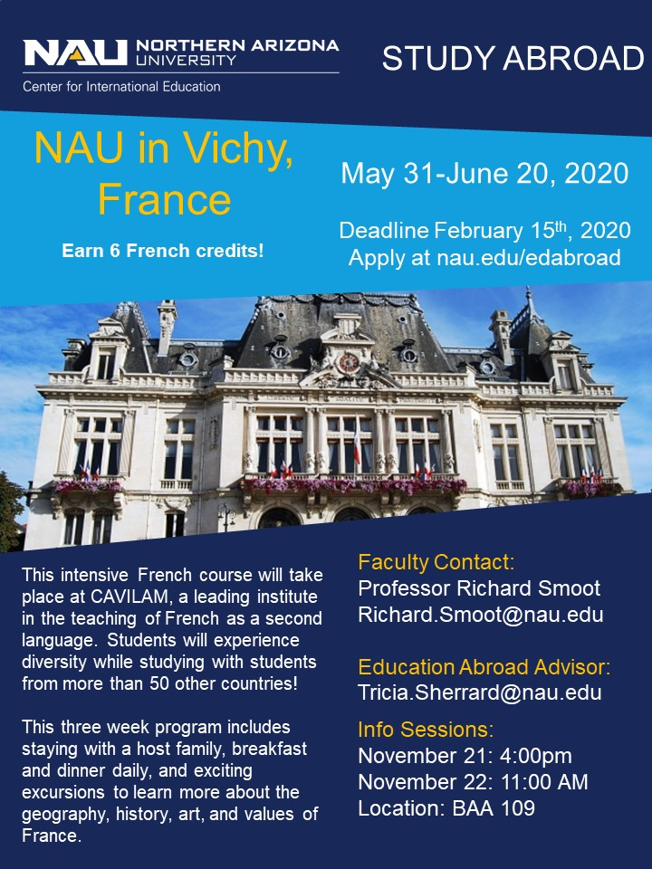 NAU in France - Smoot